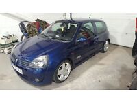 Clio 172 sport , cam belt , dephaser and aux belt all done less than 6 months ago