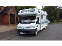 Norwich Camper Hire 4 and 6 Berth Motor Homes for Hire in the heart of Norfolk