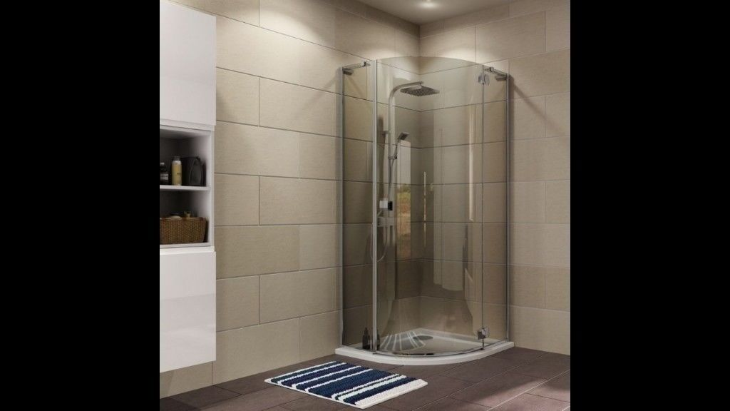 COOKE & LEWIS LUXURIANT QUADRANT SHOWER ENCLOSURE & SHOWER TRAY WITH ...
