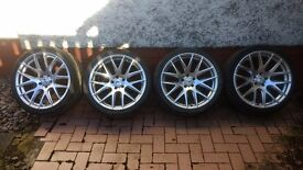 """19"""" Zito 935 alloy wheels with tyres - vw/Audi/seat/Skoda fitment"""