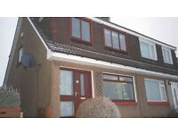 For Rent-3 bedroom chalet semi detached in Rosebank area of Kirkintilloch