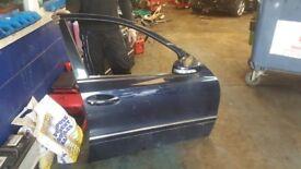 2007 MERCEDES E CLASS E280 3.0 CDI FRONT RIGHT DRIVER OFF SIDE *BARE DOOR* LUTON £240