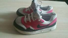 Nike air max for children size 8.5uk or 26 EU BARGAIN PRICE
