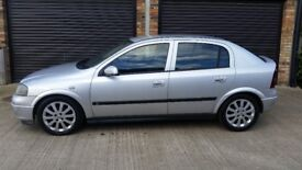 VAUXHALL ASTRA 1.6 MANUAL 2005 54 REG 2 OWNERS STARTS AND DRIVES NO POWER STEERING NO MOT