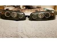 Mk2 Fiat Punto Halo Headlights
