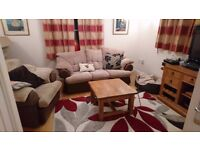 3 Seater Sofa with Armchair - excellent condition