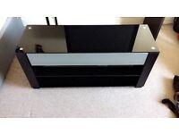 Yamaha sound bar with custom made Tv stand