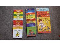 34 Assorted childrens books
