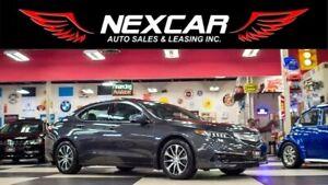 2015 Acura TLX TECH PKG AUT0 NAVI LEATHER SUNROOF CAMERA 101K