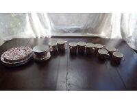 M&S Rouge Fleur set mugs cups plates