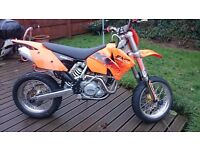 KTM 525 exc supermoto PX and delivery possible