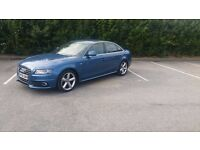 Audi A4 Sline 2L TDI Blue 58 Reg Service history Tested.