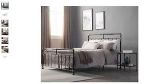For Sale A Brand New Carmelia Panel Bed By Williston Forge...........Queen Size $250