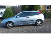 Automatic Ford Focus Light Blue 2004