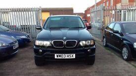 BMW X5 3.0i AUTO, FSH, LEATHERS, PRIVACY WINDOWS, 1 YR MOT!