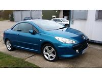 Priced to sell. Peugeot 307cc Fully loaded with extras