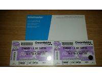2 Creamfield tickets