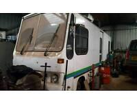 Iveco Eurocargo motor home ( ex mobile library )