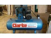 Clarke compressor se16c150 14cfm 240v