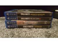 PS4 games as bundle or separate sale