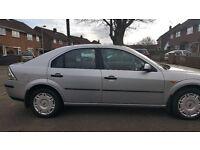 ford mondeo 52 plate 2 litre tdci hatchback colour silver