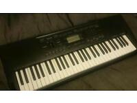 Electric keyboard CASSIO CTK-3000 (BARELY USED, PLUG NEEDED)
