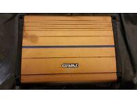 CAR AMPLIFIER ORION COBALT 600 WATT 2 CHANEL AMP CROSSOVER CAN RUN DOOR SPEAKERS AND SUBWOOFER SUB