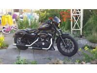 2015 Harley Davidson Iron 883 3900miles