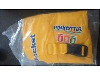 Brand New polyotter swim jacket age 3-6 years