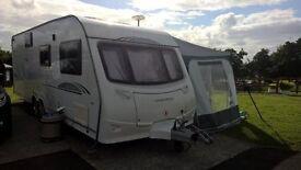 coachman Amara 640/6 2009 excellent 6 berth caravan including full size awning