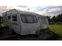 coachman Amara 640/6 2009 excellent 6 berth caravan including full size awning