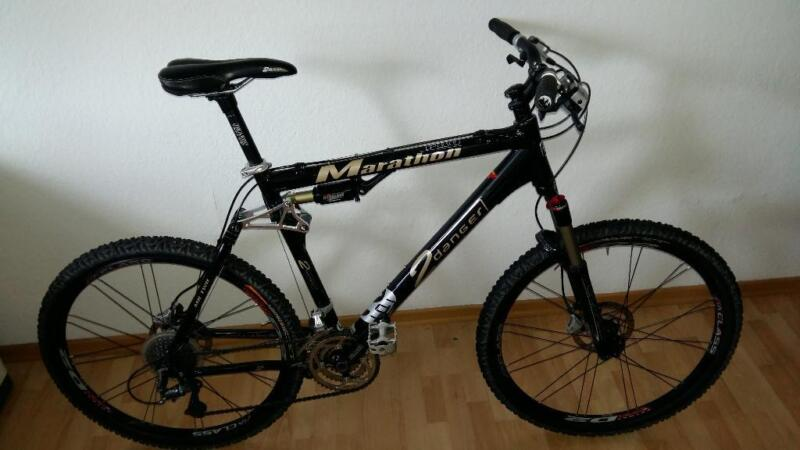 mountainbike fully manitou xtr 2danger in hessen. Black Bedroom Furniture Sets. Home Design Ideas