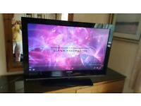 "Samsung 40"" lcd hd tv with remote."