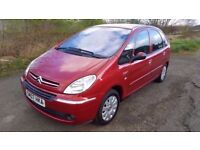 Citroen Xsara Picasso **12 MONTHS**F.S.H**Ideal Family Car**Excellent Condition**