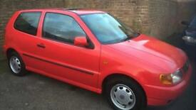 Volkswagen polo minted 19000 miles collectors car