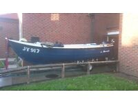 Orkney strikeliner fishing boat