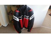 Weise Motorycyle Leather jacket size 44
