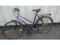 DIN MOUNTAIN BICYCLE MADE IN GERMANY 18 SPEED 26 INCH WHEEL AVAILABLE FOR SALE