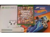 xbox one s Boxed+Gta5+ForzaHorizon3+Fifa17