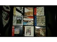 Set of 9 Led Zeppelin mini lp cd's