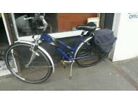 Raleigh lady town bike.