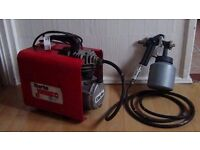 Clarke Jumbo air compressor /sprayer