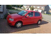 Vw polo red 5door 1.4 16v cheap car