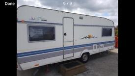 HOBBY SINGLE AXLE TOURING CARAVAN