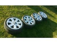 "Audi V6 RS 18"" Alloys (Wheels vw mk4 golf bora direct fit)"