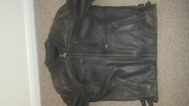 Spada Motorcycle riding leather jacket size 46 chest (lots of room for adjustment