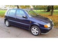 VW POLO AUTO ONLY 45,000 MILES EXCELLENT RUNNER NEW MOT