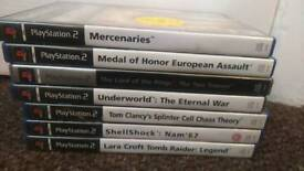 7 PS2 GAMES (OFFERS)