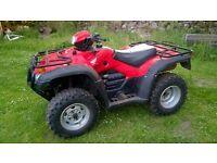 2012 Honga TRX500 Foreman Quad