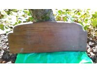 Timber board, shaped with bevelled edge